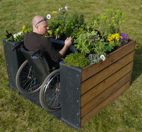 Raised Beds Designs Handicap
